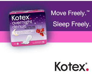 Kotex Overnight Pads