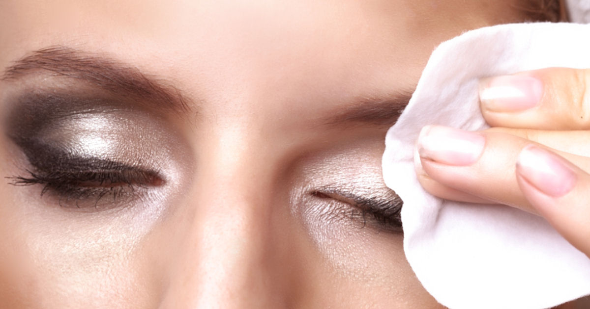 Eye makeup remover natural