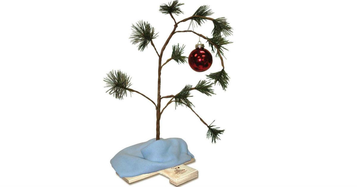 Charlie brown christmas tree png