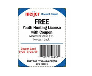 Youth Hunting License