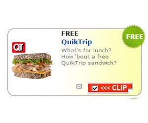 Quik Trip Sandwich Salad Or Wrap Free With Coupon Free Product Samples