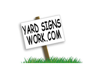 Create Receive Your Own Yard Sign For Free Free Stuff