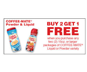 Coffee Mate Buy 2 Get 1 Free With Coupon Printable Coupons