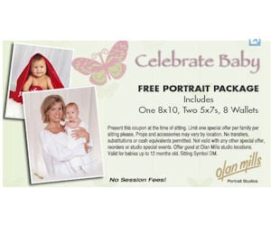You can't beat a free package – even for just the kiddos! I just spotted this on summer-school.ml – you can get a FREE Portrait Package at Olan Mills, zip under Photography. You will not pay any sitting fees, and should you want more than the free package you can get 40% off any additional.