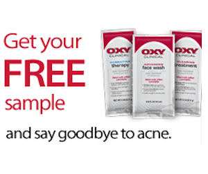 19969 Free 3 PK. Of Oxy Clinical Cleaning, Hydrating and Wash