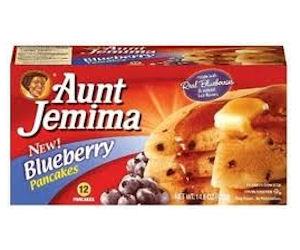 Aunt Jemima Pancake Box