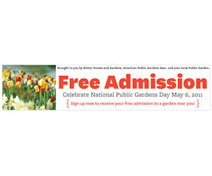 National Public Gardens Day Free Garden Admission With Coupon Printable Coupons