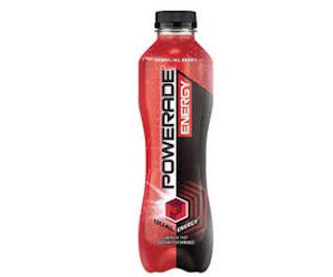 Powerade Energy - Free 500ml. Bottle with Coupon