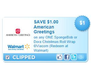 American greetings gift wrap coupon
