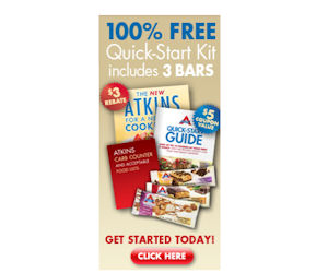 Order a free atkins quick start kit free atkins bars for Atkins quick cuisine