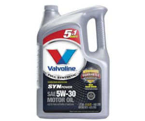 Valvoline synpower motor oil 10 off with coupon at for Autozone motor oil specials