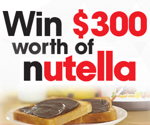 contests giveaways sweepstakes giveaways win $ 300 worth of nutella