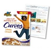 General Mills Curves Cereal