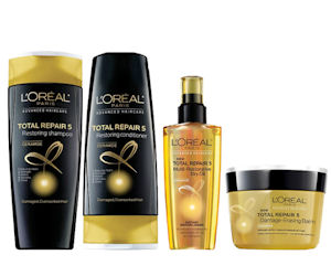 Get Your Choice of Free Loreal Advanced Haircare Samples