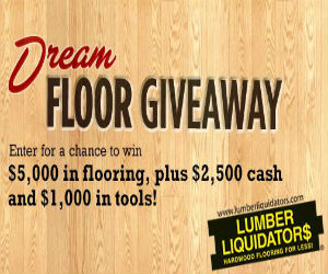 Dream floor giveaway from hgtv free sweepstakes for Dream floor giveaway