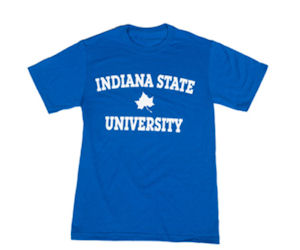 request a free indiana state university t shirt free