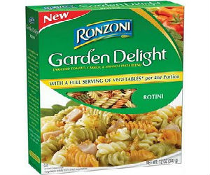 Ronzoni Coupon For 1 Off Two Boxes Of Garden Delight Printable Coupons