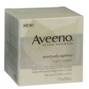 aveeno positively ageless lifting and firming night cream