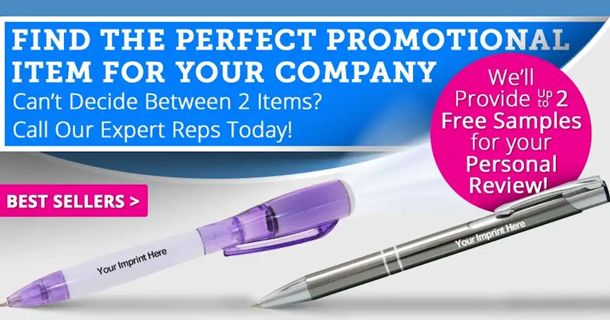 In choosing from among the best selling promotional products online, it is important to focus on your price point and your target audience. If you need to hand out a lot of items at your next trade show or event, but you need to stick to a limited budget, personalized pens or magnets are often a great choice.