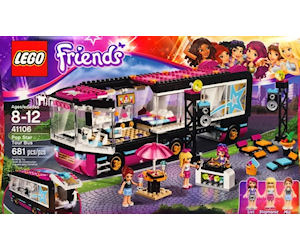Lego Friends Tour Bus Argos