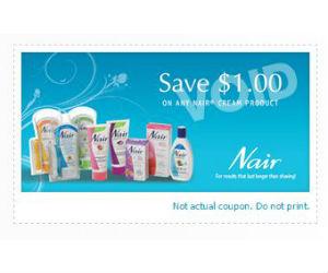 Nair coupons