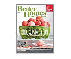 Enjoy A Free Subscription To Better Homes And Gardens