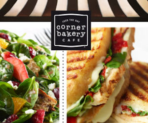 History of Corner Bakery Cafe The Corner Bakery Cafe began as a little bread bakery, supplying freshly baked bread and equally remarkable sandwiches to happy customers around town. Then their menu was added with delightful sweets, savory panini, fresh salads, and hearty bowls of .