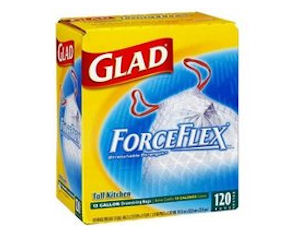 Glad ForceFlex Trash Bag