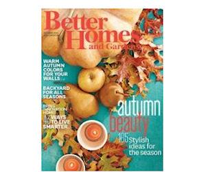Better Homes Gardens Free Magazine Subscription