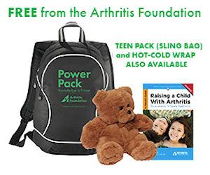 Kids amp teens with juvenile arthritis free ja power pack free stuff