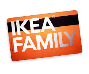 The IKEA Visa credit card is a credit card that can be used at IKEA and anywhere else Visa is accepted. If you are approved, you'll earn 5% back in rewards on IKEA USA purchases 1, 3% back in rewards on dining, grocery and utility purchases 2, and 1% back in rewards anywhere else you use the IKEA Visa credit card.. The IKEA Projekt card is a credit card that can only be used at IKEA USA.