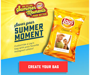 free lays chips samples