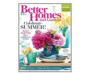 Free Subscription To Better Homes Gardens Magazine Free Product Samples