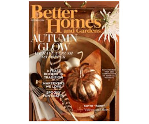 Free Better Homes & Gardens Magazine