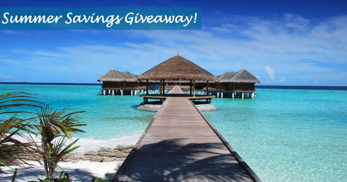 Week 4 Summer Savings Giveaway