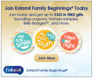 Enfamil Family Beginings