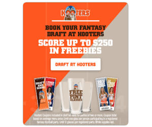 Hooters mobile coupons