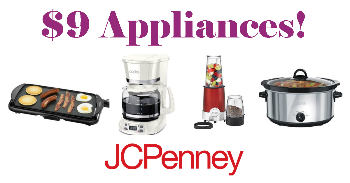 Jcpenney 9 Small Appliances Save 80 Daily Deals Coupons
