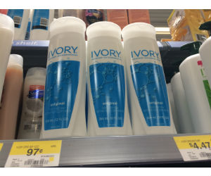 Ivory Body Wash at Walmart