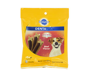 Pedigree Dentastix at Dollar Tree