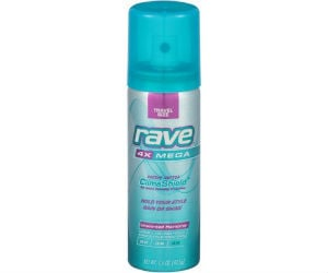 Rave Hairspray at Walmart