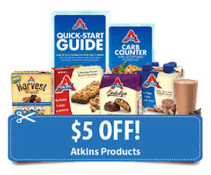 Free atkins quick start kit 5 off coupon free product for Atkins quick cuisine