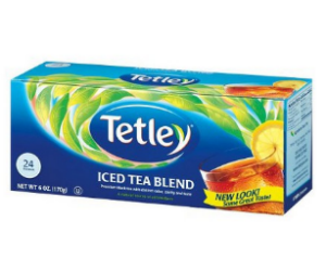 Tetley Tea at Walmart