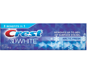 Crest 3D White Toothpaste at Walgreens