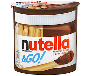 Nutella & Go Singles at Walgreens