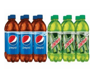 Pepsi or Mountain Dew at Target