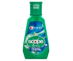 Scope/Crest Outlast Mouthwash at CVS