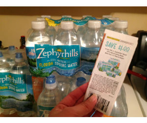 Zephyrhills Bottled Water at Publix