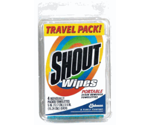 Shout Wipes at Target