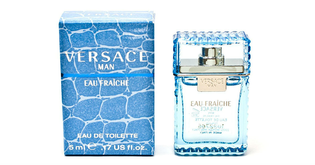 Versace Man Eau Fraiche Mini Cologne $5.94 Shipped on Amazon